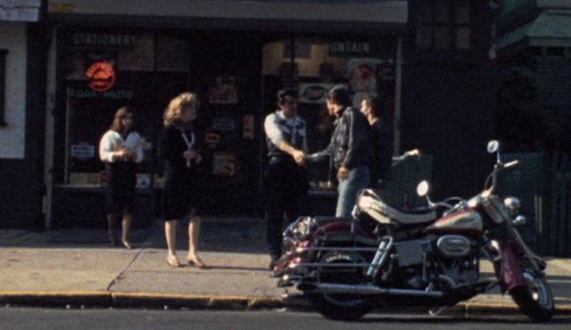 Electra Glide in The Lord's of Flatbush