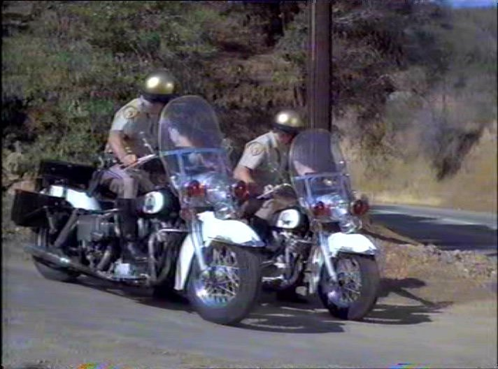 Electra Glide in The Million Dollar Duck