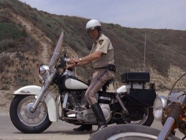 Electra Glide in The Mod Squad