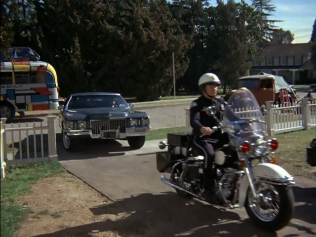 Electra Glide in The Partridge Family