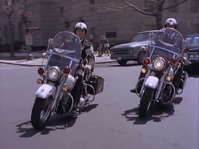 Electra Glide in The President's Plane Is Missing