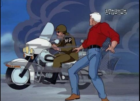 Electra Glide in The Real Adventures of Jonny Quest