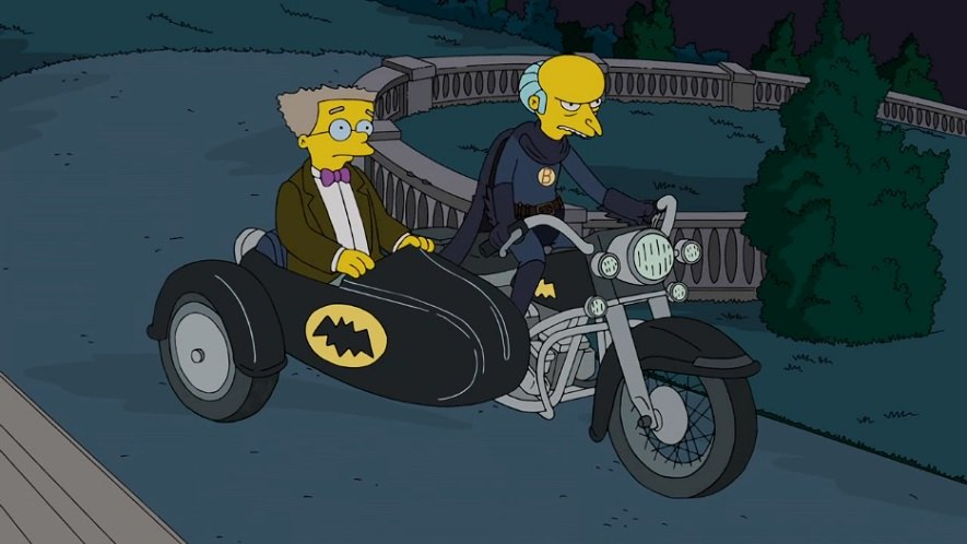 Electra Glide in The Simpsons