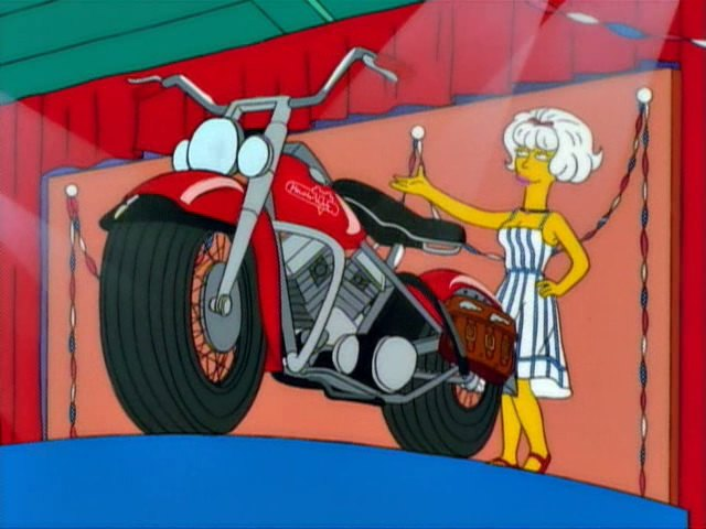 Hydra Glide in The Simpsons