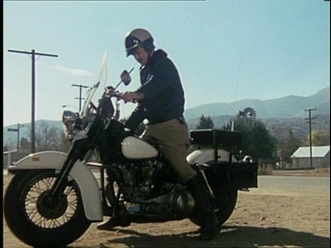 Electra Glide in The Six Million Dollar Man
