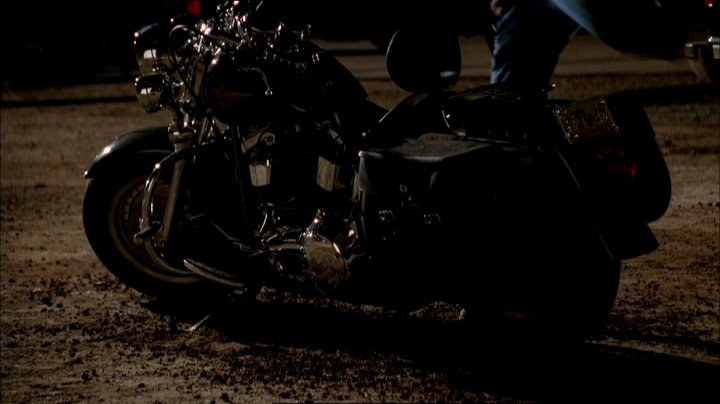 Softail Fat Boy in The Sopranos