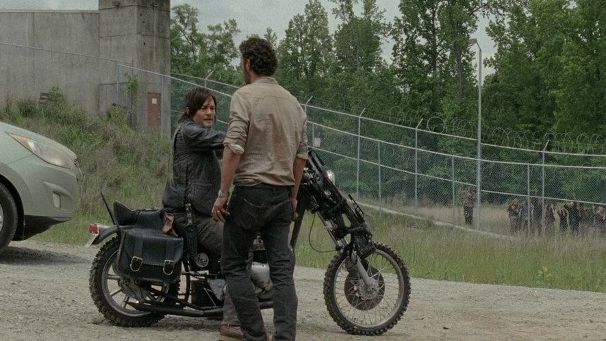 Bonneville in The Walking Dead