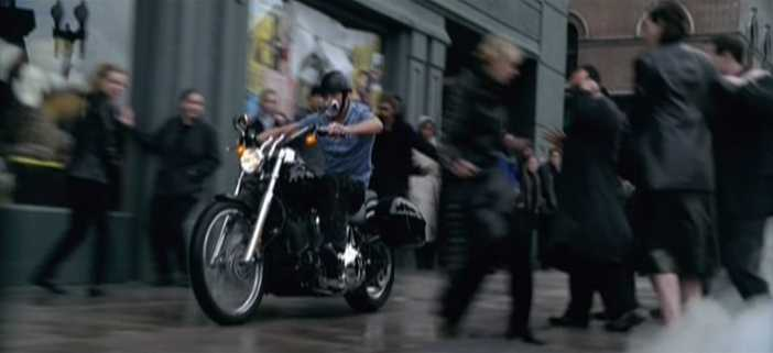 Softail Deuce in U2: Elevation