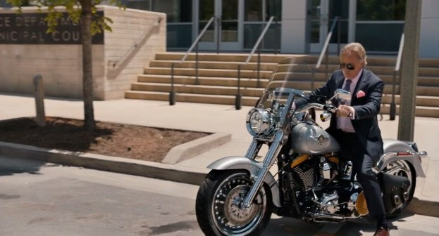 Softail Fat Boy in Vengeance: A Love Story