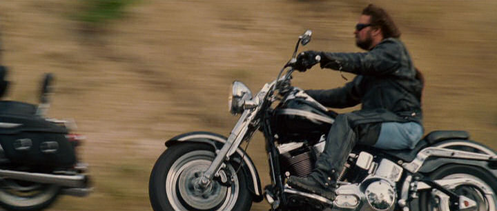 Softail Fat Boy in Wild Hogs