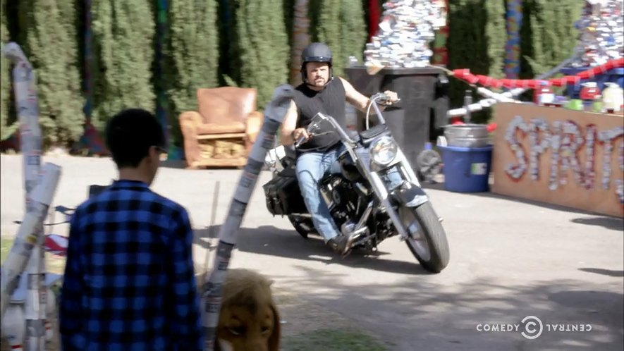 Softail Fat Boy in Workaholics