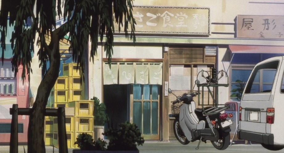 Super Cub110 in WXIII: Patlabor the Movie 3