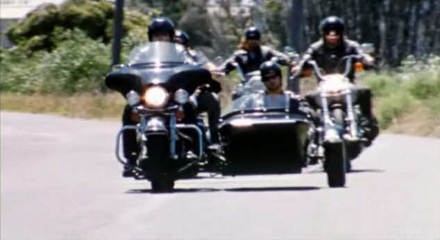 Electra Glide in You Can't Stop the Murders